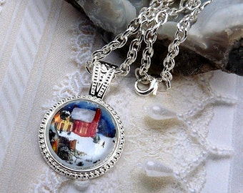 Winter In The Village-Necklace R 3085