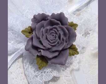 CLEARANCE-Victorian Rose-Brooch-Pin  T 342