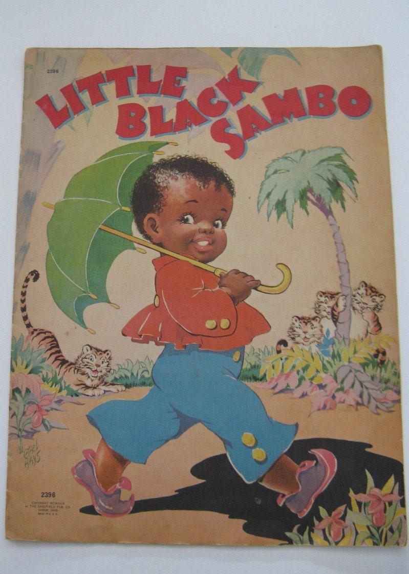 LITTLE BLACK SAMBO BOOK 1942 |Little Boy Sambo