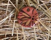 Glazed Terra Cotta Pendant-Charm-Ornament ITEM NO. 1205