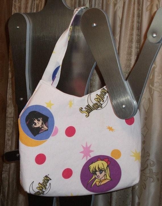 Sailor Moon  Tote / Purse 00ak-- Handmade  Anime'