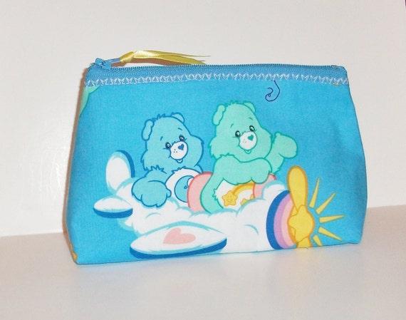 Care bears   Makeup- Bag--Handmade