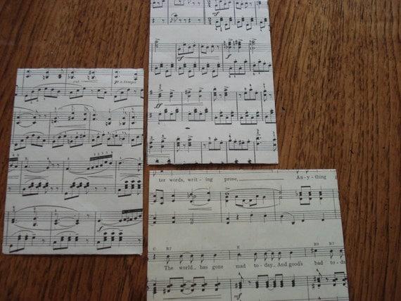 Share the Music - 3 Handmade Envelopes