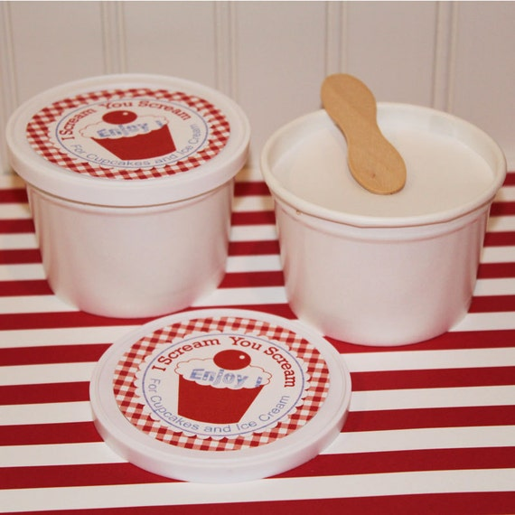 Retro Dixie Ice Cream Cups 10 School Style Ice By
