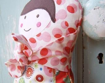 Doll Sewing Pattern.  Russian Doll Sewing Pattern.  Beginner Sewing Pattern.  PDF - Lucy Babushka Softie Doll