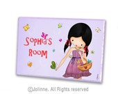 Personalized door sign, personalized girls, kids door signs, door sign custom, nursery door sign, personalized baby, door sign, door plaque