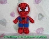 Spiderman 12 inches - PDF amigurumi crochet pattern