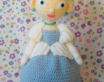 Dolly Cinderella 15 inches - PDF crochet pattern