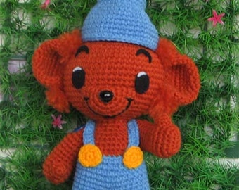 Little BAMSE bear 8 inches - PDF crochet pattern