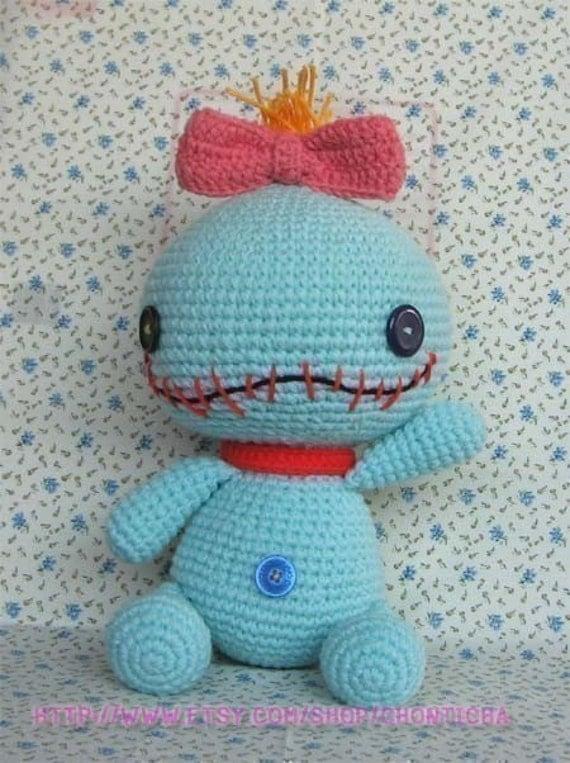 Free Amigurumi Scrump Pattern : SCRUMP 12.5 inches - PDF amigurumi crochet pattern from ...