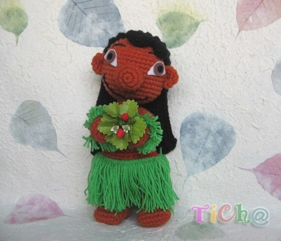 Lilo Aloha Pdf Crochet Pattern