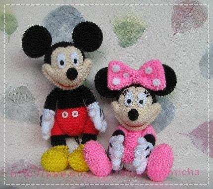 Minnie Mouse amigurumi patron - Imagui