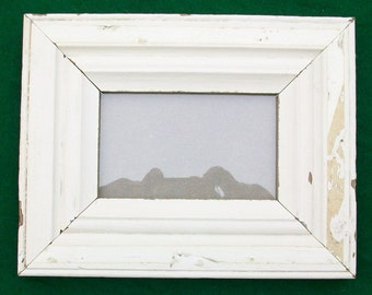Old New York Architectural Salvaged Wood Shabby Picture Frame Reclaimed Chic S6568