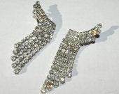 glamorous rhinestone earrings