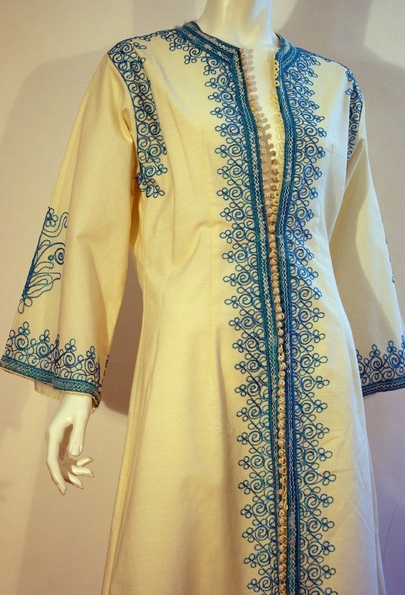 OH HOLD - Retrofilly 1960s Moroccan kaftan
