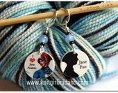 Jane Austen Stitch Markers (Set of 2)