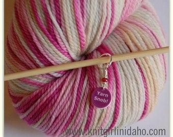 Mini Yarn Snob Stitch Marker (Qty 1)