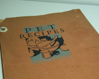 Vintage Recipe Cookbook Pet Milk 1931 FREE Shipping US only