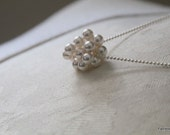 Clustered Pearl Pendant