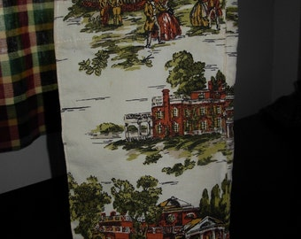 Vintage Margaret Smith Tall Fabric Tote Bag