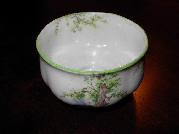 Vintage Greenwood Tree Open Sugar Bowl from Royal Albert, England