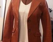 Ladies' Sunrise Leather Co. lined jacket\/blazer XS