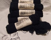 Vintage Pauline Denham NUBETTE Yarn - 13 x 1 ounce skeins -color 307 navy