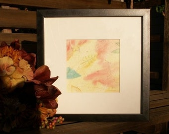 The Party - original autumn\/fall watercolor painting