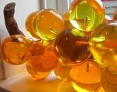 Mesmerizing Vintage Resin Grapes