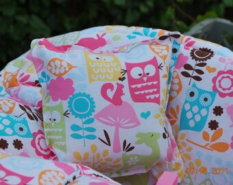 Shopping Cart Cover Boutique (watermelon forest life) Shopping Cart Cover for a Girl