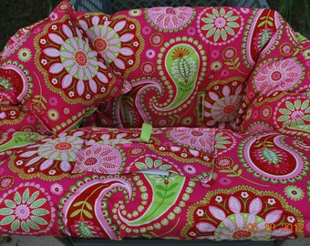 Shopping Cart Cover Infant/Toddler Boutique (Gypsy Bandana Pink) Shopping Cart Cover
