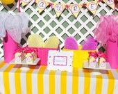 Butterfly Birthday Banner - PRINTABLE - INSTANT DOWNLOAD - As Seen On Hostess With The Mostess