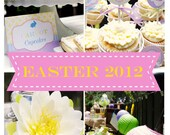 Easter Party- Printable Party Collection- By A Blissful Nest- As Seen In Yum Food & Fun For Kids Magazine