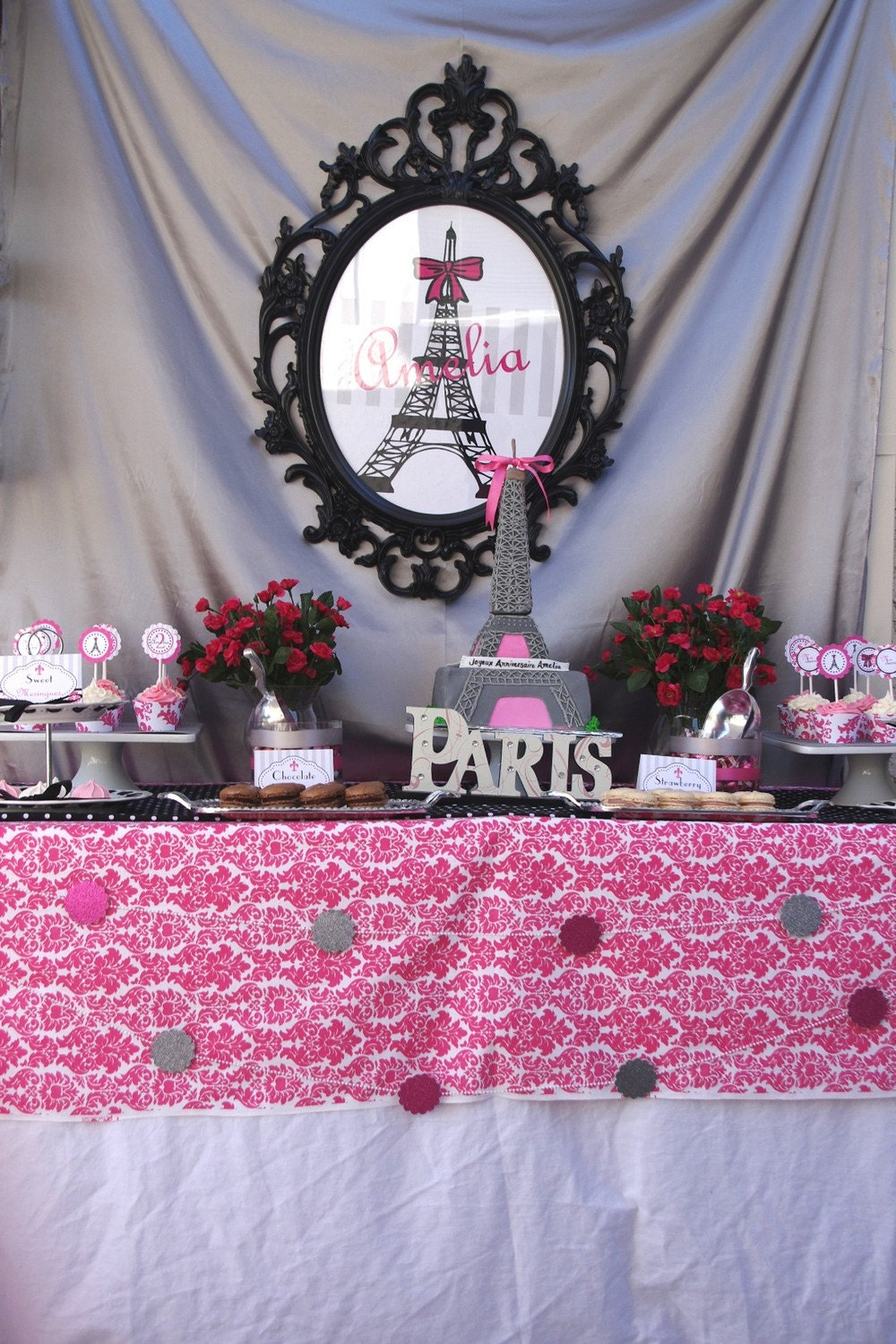 Paris Birthday Decorations PRINTABLE Party by ...