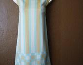 Vintage 60's Mod Dress, Size Medium/Large