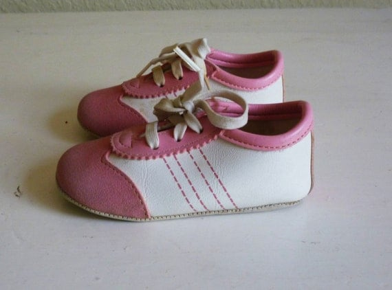 reserved vintage pink infant tennis shoes size 2