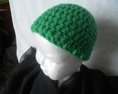 Free Shipping - Green Baby Hat