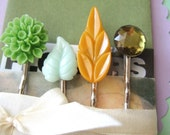 Set of 4 Bobbypins - In The Woods