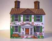 Vintage Williamsburg House by Enesco Imports Made in Japan