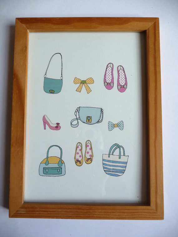 Special Order for Emilie - poster - fashion for girls - shoes, bags, swimming suits