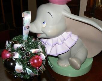 KISS YOUR PRINCE Disney Princess Holiday Kissing Ball with Vintage Glass Ornaments