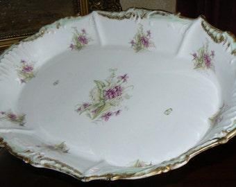 Vintage Limoges France Large French Platter Bridal Shower