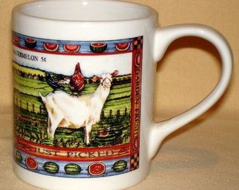 Country Goat Coffee Mug