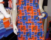 Sturdy Tailgating Apron for the UF Gator Tailgating Chef in Your Life