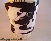 Moo Moo Cow Coffee Cup Cozy Beverage Holder Sleeve Coffee