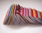14 Mini Handmade Journals in Various Sizes