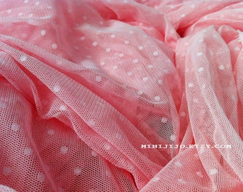 Fat Quarter Old Rose Lace fabric 1/4 mtr.