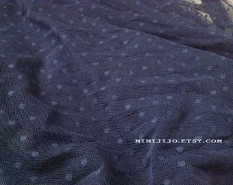 Fat Quarter Dark Blue Lace fabric 1/4 mtr.
