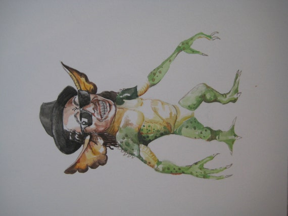 Lil Wayne as a gremlin