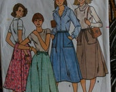 Butterick 6022 Vintage Wrap A Round Skirt